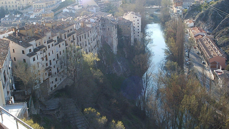 Río Júcar a su paso por Cuenca (Foto: Archivo)