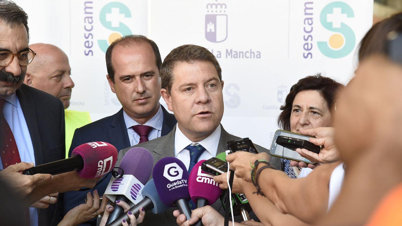 Emiliano García-Page, este miércoles en Guadalajara