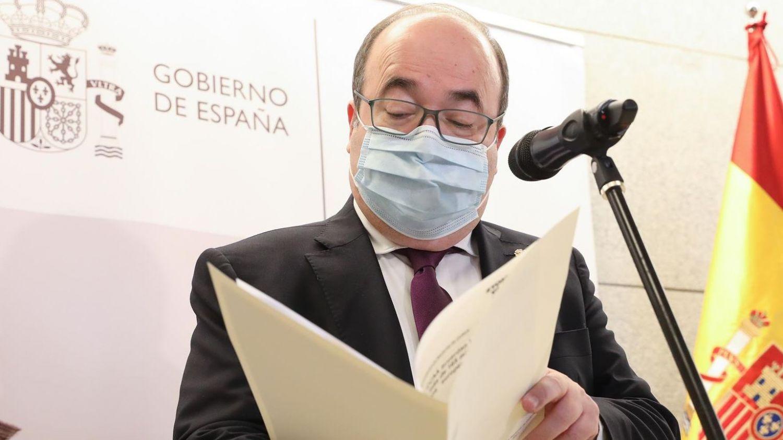 El ministro de Cultura y Deporte, Miquel Iceta.
