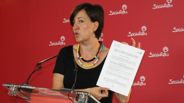 Blanca Fernández, este miércoles